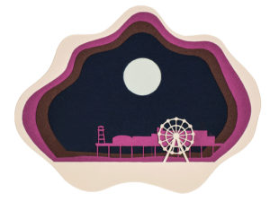 Dorset Moon Illustration