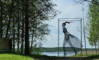 Nadia Zubareva Wire Sculpture
